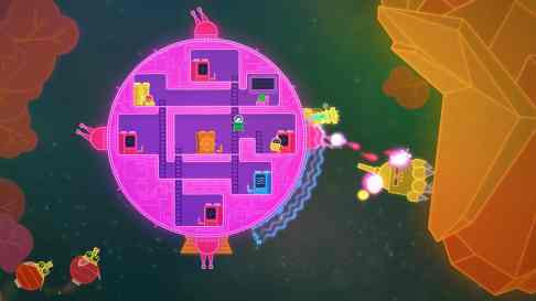 Lovers in a dangerous spacetime 4