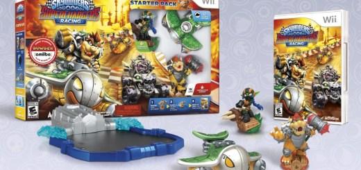 Starter Pack Wii Skylanders SuperChargers