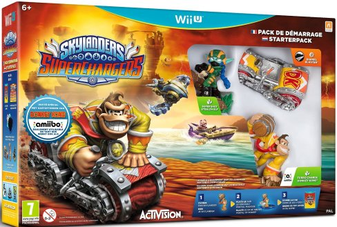 Skylanders SuperChargers - Wii U