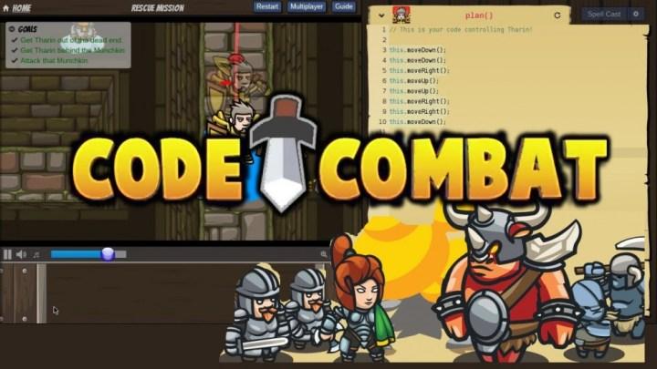 Code Combat - Accueil
