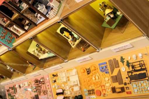 Scènes miniatures en kits