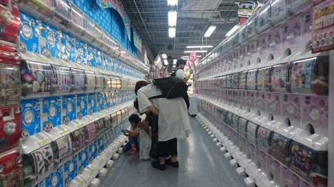 Encore plus de distributeurs de gashapon