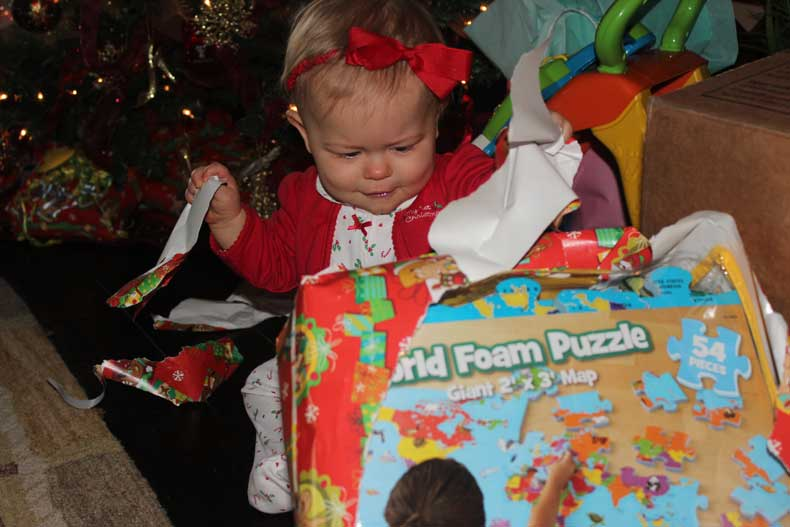 Parenthood and Passports - Travelers First Christmas