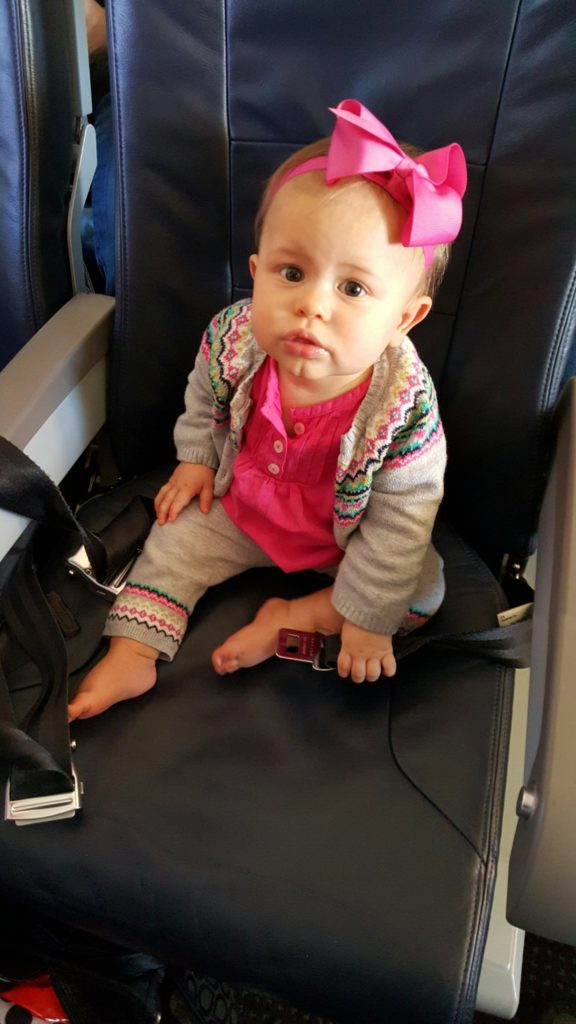 flying with a baby travel