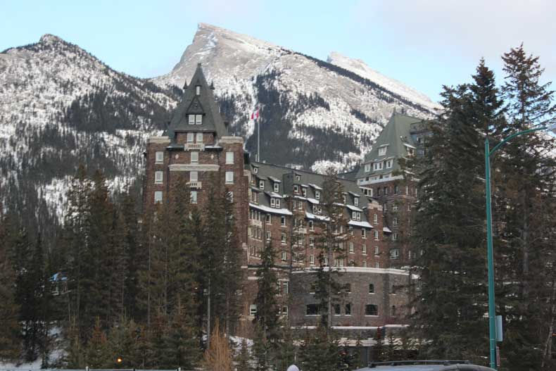 Parenthood and Passports -Lodging in Banff Lake Louise Fairmount Springs