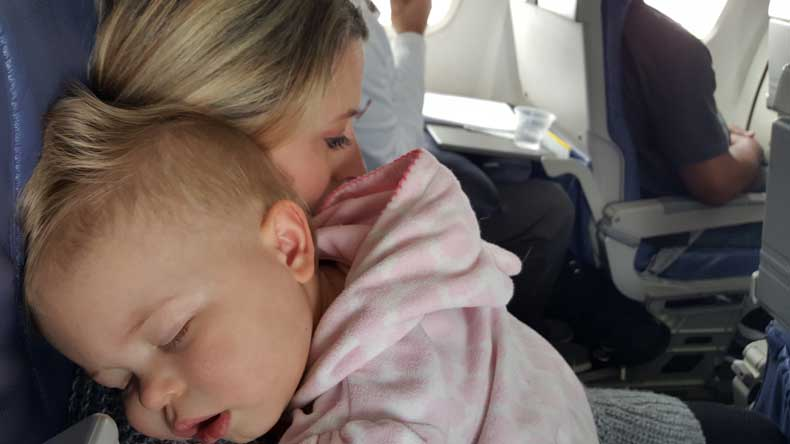 Parenthood and Passports - flying with a baby