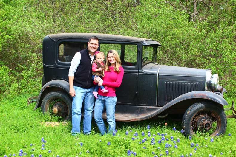 Parenthoo d and Passports - Texas Bluebonnets