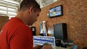 Parenthood and Passports - Driving across the Belize Guatemala border