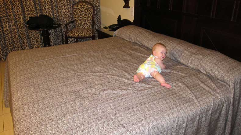 Hotels with a baby