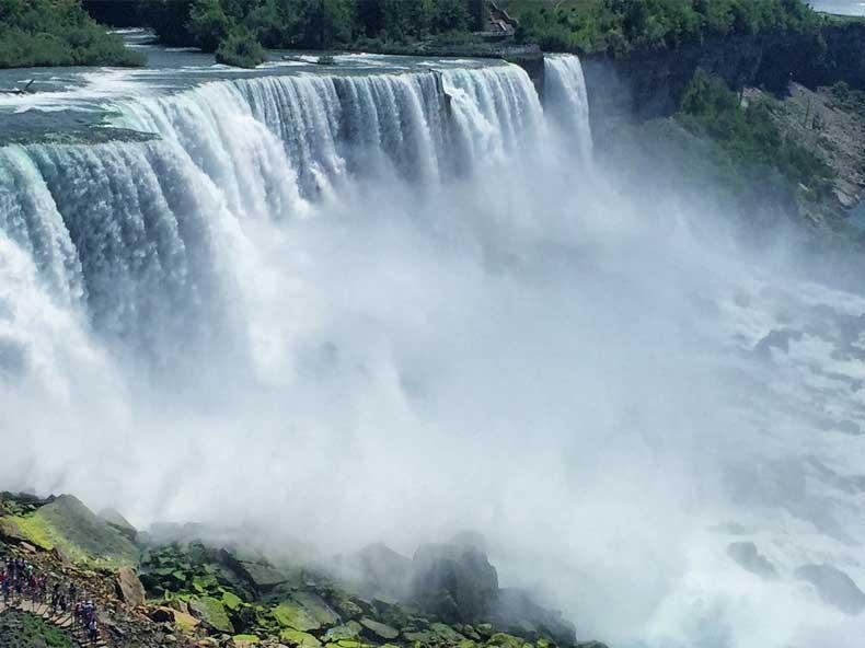 Parenthood and Passports - Niagara Falls American side