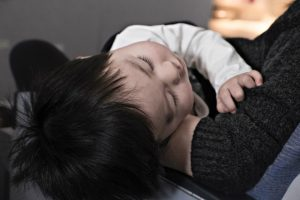 Baby sleeping. The recommendations for how much children need to sleep have changed in even recent years.