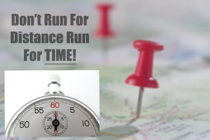 Rung for time not distance for 5k race training