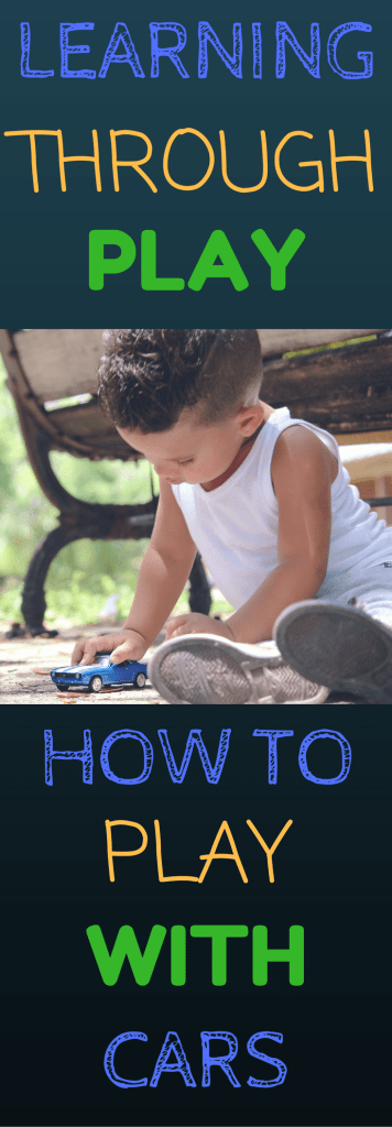 Learning Through Play With Cars