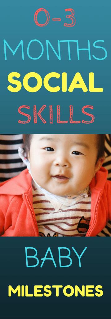 0-3 months social skills