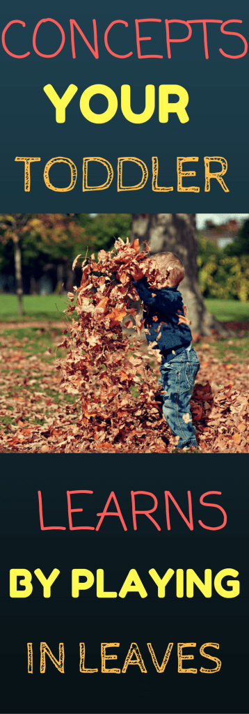 Skills Your Toddler Learns From Playing in Leaves