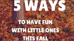 5 Ways to Enjoy Fall With Your Toddler