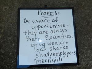 Teaching Kids About Opportunists