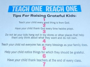 Tips for Raising Grateful Kids - Parenting Like Hannah
