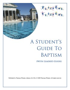 Newly Updated Baptism Study - Parenting Like Hannah