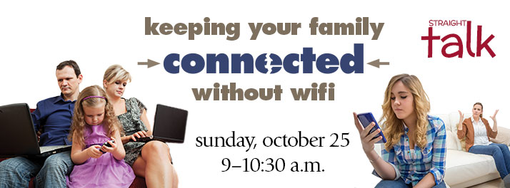 Keeping Your Family Connected Without Wifi