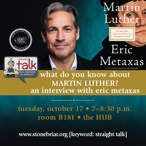 Eric Metaxas Interview by Chuck Swindoll
