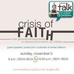 Crisis of Faith Stonebriar Community Church