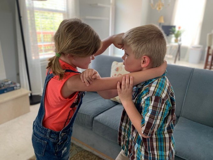 Fighting and Squabbling Siblings