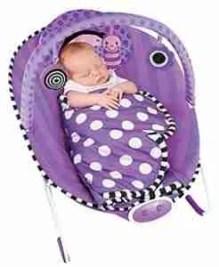 Baby sleep in the-bouncer