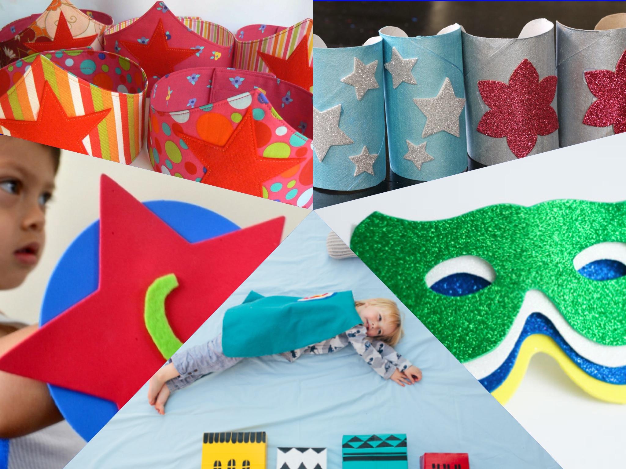 10 Superhero Crafts And Activities