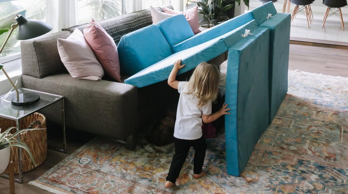 5 awesome fort kits to keep your kids
