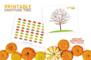 Thanksgiving Activity During COVID - Giving Tree