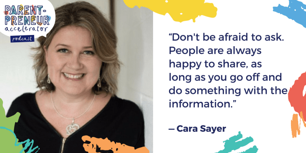 Podcast Artwork - 013 - Cara Sayer