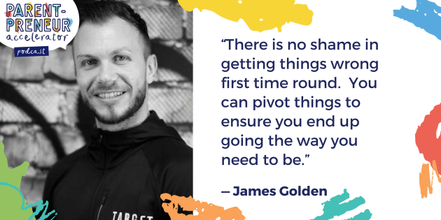 Podcast Artwork - 014 - James Golden