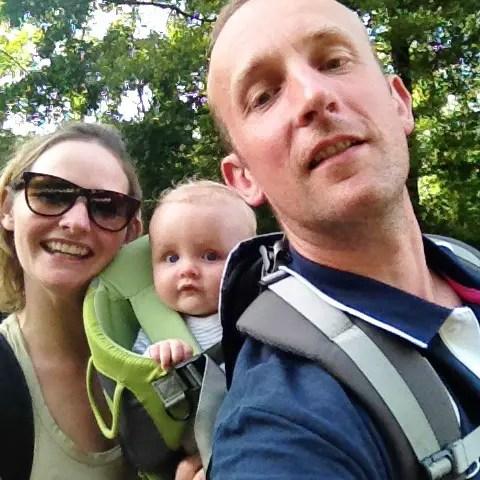 camping en ardèche - voyage avec bébé