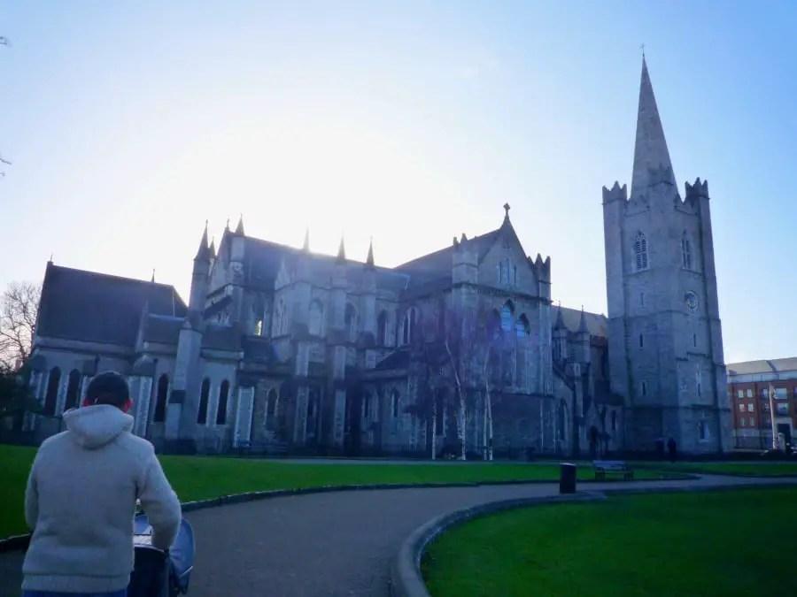 visiter Dublin avec un bébé nos incontournables cathédrale