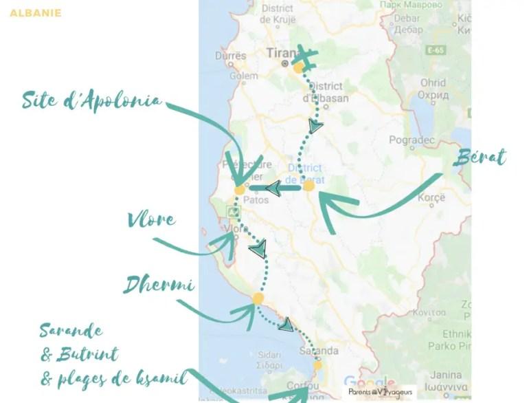 road trip albanie