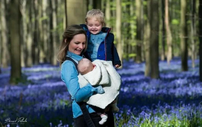 photo de famille bois de hallerbos