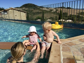 voyage en Toscane avec bébé