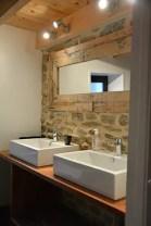 salle de bain de charme, gite de charme au clos saint pierre