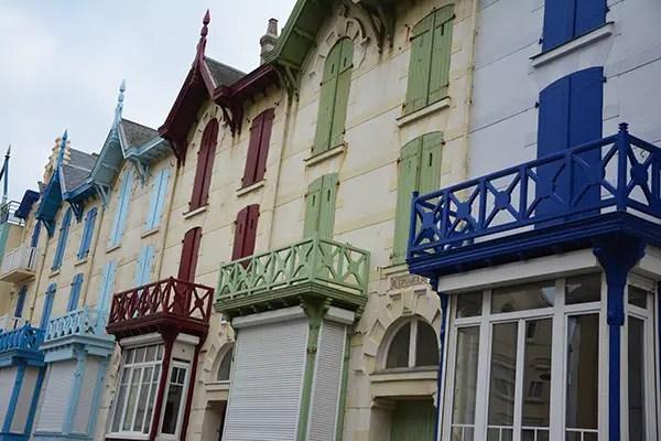 Côte d'Opale, maisons colorées Wimereux à moins de 2 heures de Paris