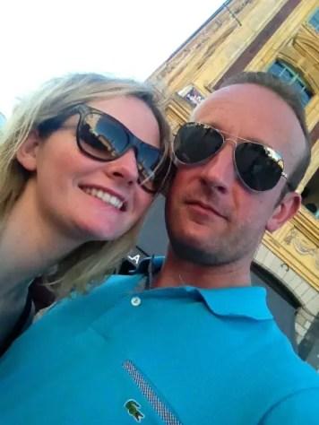 selfie en couple