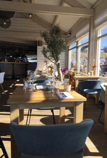 intérieur restaurant Noordwjick