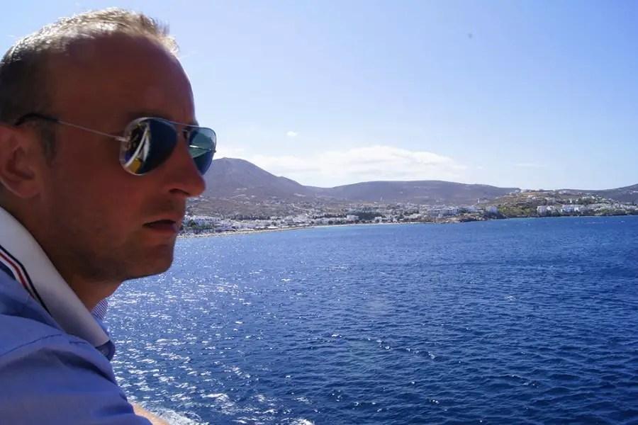Les cyclades visiter l'île de Santorin