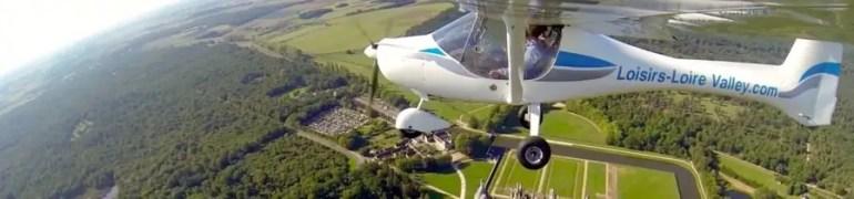 vol en ulm gîte Loisirs Loire Valley