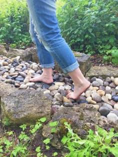 sentier pieds nus loisirs loirs valley
