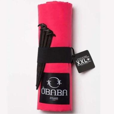 drap de plage OBABA blog voyage en famille équipement