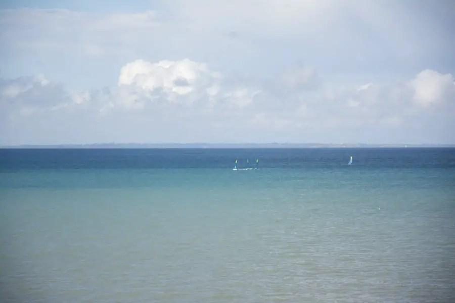 Plage de saint pair sur mer- Normandie