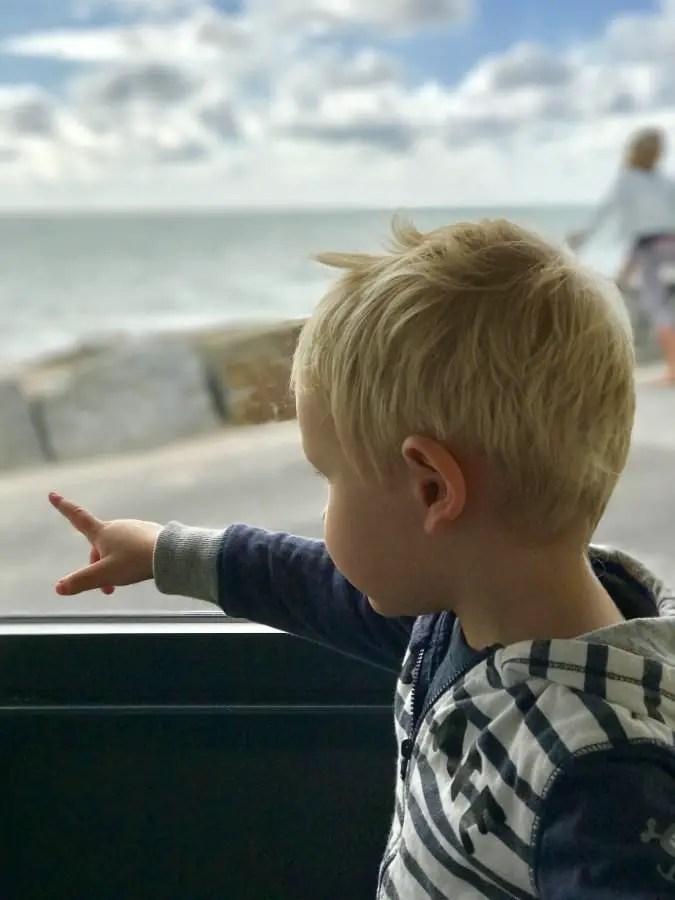 voyager seule avec un enfant