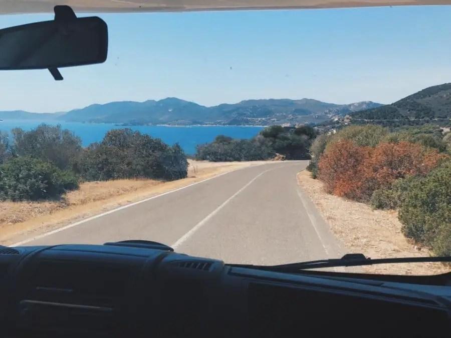 road-trip en camping-car en famille sardaigne