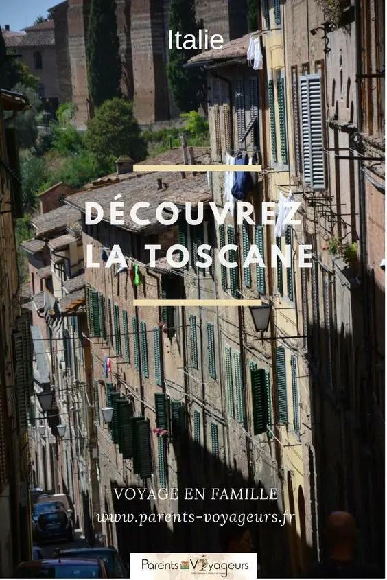 Voyage en Italie avec des enfants, la toscane en famille